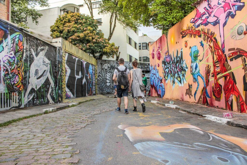 Arte de Rua (Street Art) In São Paulo Brasil